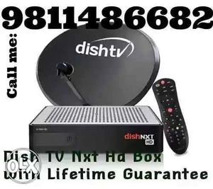 DISH TV NXT HD BOX (Call me for new connection call me