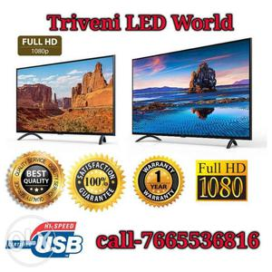 """"""" Full HD Led Tv with box packed. A"""