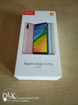 MI redmi note 5 Pro 64 GB bill box charger Sara