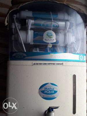 White And Blue Maha Aqua Water Purifier