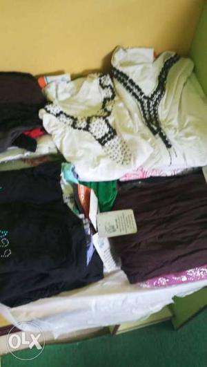 180 rs per pcs.mix garments male or female all.price