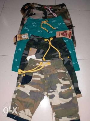 Branded shot for kids wear