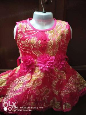 Fancy frock for 1 to 2 year girl