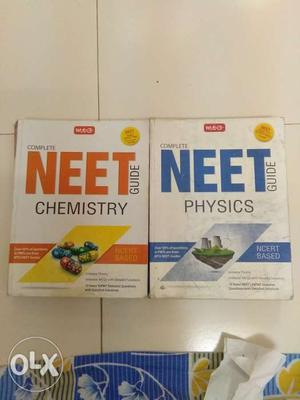 Mtg NEET complete guide for physics and chemistry