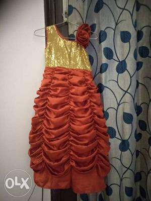 Party wear gowns available, size 1-10 years,