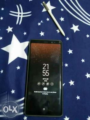 Samsung Galaxy Note 8 64GB 4 month old 8 month