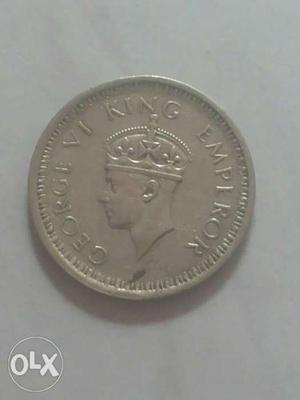 years one rs silver coin 75 years old