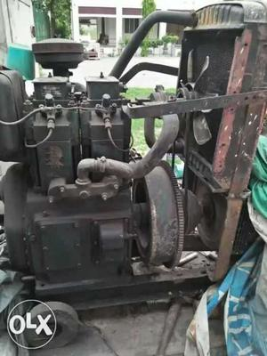 Black Diesel Generator