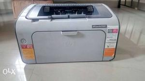 Hp laserjet Printer with Toner cartridge. Unused