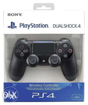 Sony PS 4 Wireless Controller Black V2 Seal Pack With Bill