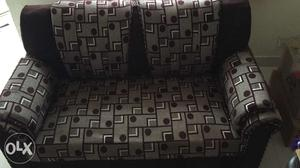 Three seater fabric sofa (2+1) purchased in