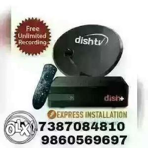 Dish Tv Connection Very Low Price All Dish Tv