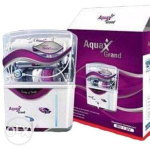 White Aqua Grand Water Purifier With Box