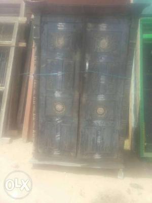 Antique Burma teak windows door