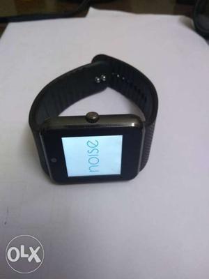 Black And Gray Digital Watch