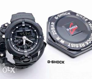 G Shock black dial, anolog and digital, original,