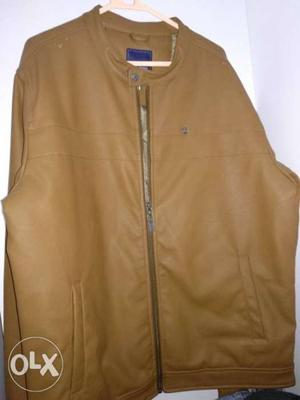 New Park Avenue leather jacket MRP-  Ideal for