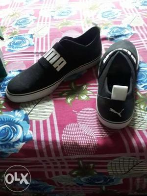 Newly bought Puma Shoe online, too big for me.