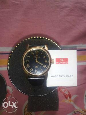 Want to sell brand new unused maxima watches both
