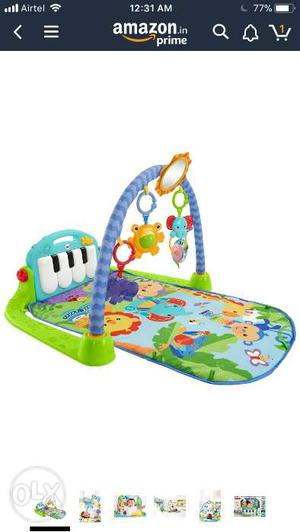 Fisher price kick and play piano gym Four ways to