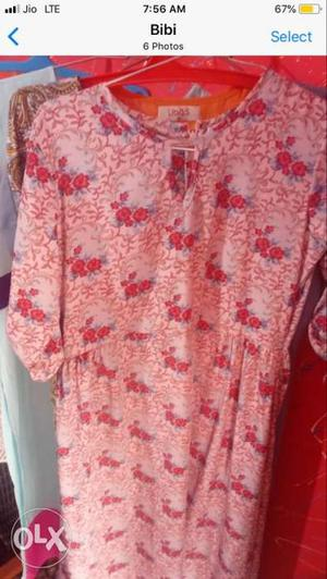 Free delivery for this Branded kurti