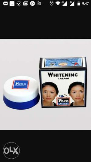 Skin whitening cream..MADE IN THAILAND