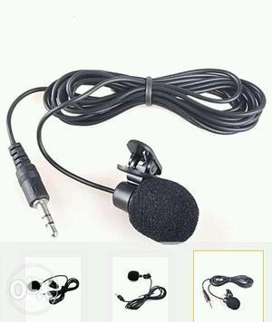 Black Lapel Microphone Collage