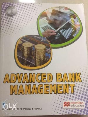 CAIIB, Advanced Bank Management, Brand New book