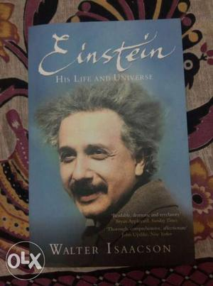 Einstein His Life And Universe By Walter Isaacson Book