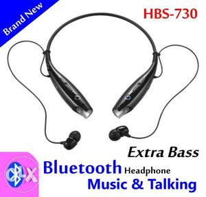 HBS-730 Bluetooth neck shape headphone Stereo Headset with