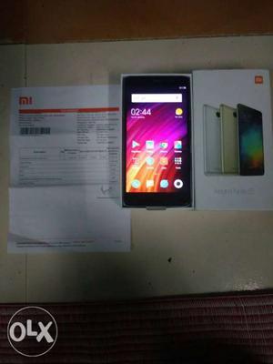 MI redmi Note 3 16GB 3GB Ram it is a very good