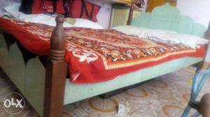 Pure teakwood bed 6/4 size - nine four nine 0