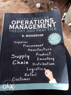 Operations Management Theory And Practice Third Edition By