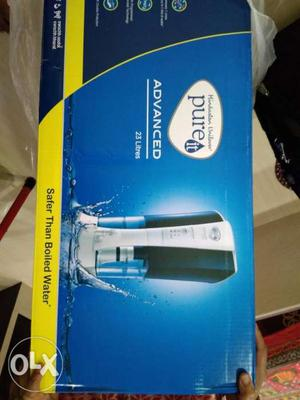 Black And Blue PureIt Water Purifier Box
