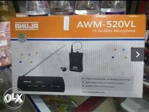 New Ahuja AWM-520VL PA Wireless Microphone sale.