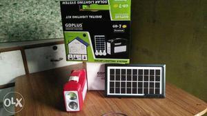 White GDPlus Solar Lighting System