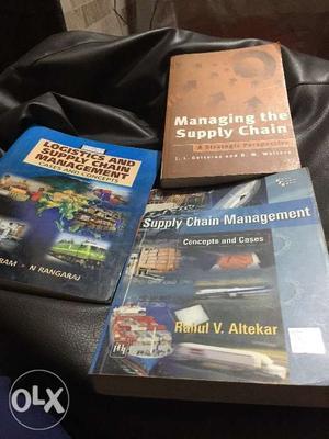 3 books Supply Chain Management
