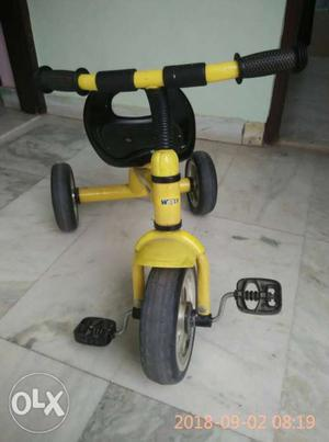 A special addition tricycle with less than 3 kg