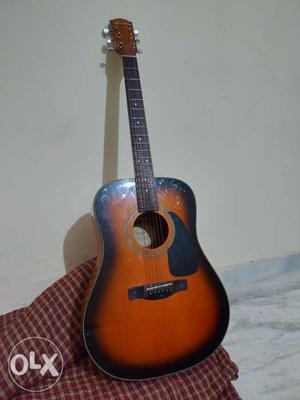 Orginal scratch less Acoustic Fender CD60SB guitar less than