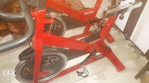 Spin bikes of no 1 brand call startrec.mrp of
