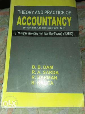 Theory And Practice Of Accountancy Textbook
