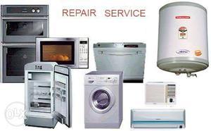 We repair all types of ac fridge washing machine