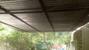 8steel sheet 12*3 with angel, shed for sals