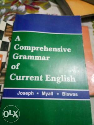 A Comprehensive Grammar Of Current English By Joseph, Myall,