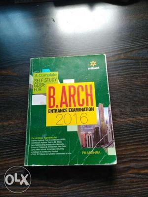 Best book for nata entrance exam