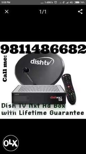DISH TV INDIA NO. 1 DT H HD set top box Call me .82