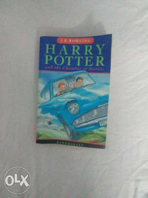 Harry Potter And The Chamber Of Secrets By J.K. Rowling Book