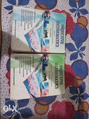 Objective Mathematics Volume 1 And 2 Books