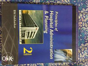 Principles Of Hospital Administration And Planning By BM