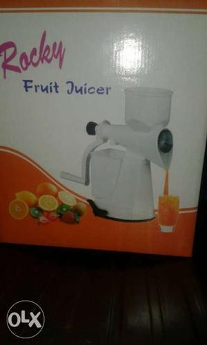 Rocky Fruit Juicer Box